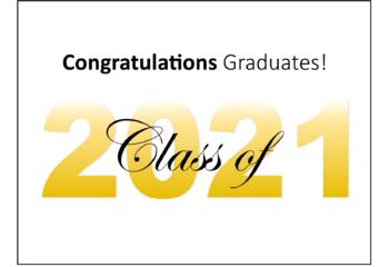 Graduation Announcement 2021 Post 2