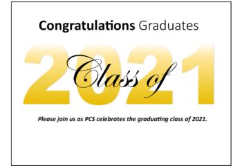 Graduation Announcement 2021 Post